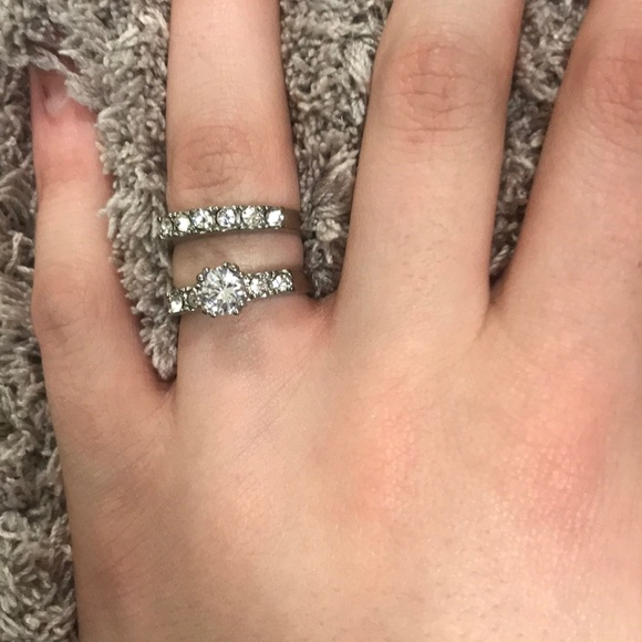Jewelry Diamond Ring Set Fake Poshmark